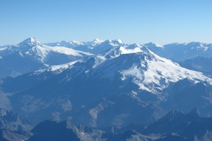 Andes from the air