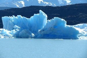 iceberg, it's really this blue