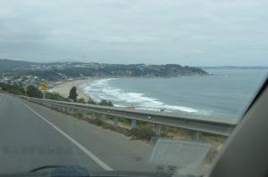 coast north of Valparaiso